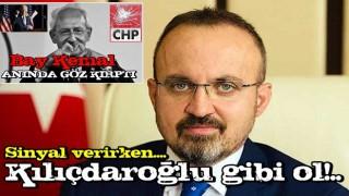 Biden'ı kutlayan Kılıçdaroğlu'na bomba cevap