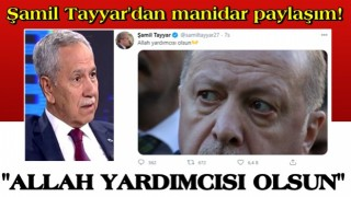 Bülent Arınç'ın tepki çeken çıkışı sonrası Şamil Tayyar'dan manidar paylaşım!