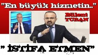 Bülent Turan'dan Arınç paylaşımı!
