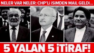 """CHP, İYİ Parti, Saadet Partisi ve HDPKK'nın """"Anayasa"""" yalanı gün yüzüne serildi ."""