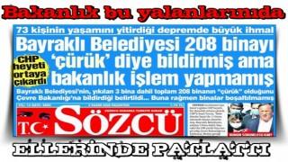 CHP ve Sözcü'nün yalanı yine ellerinde patladı!