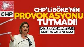 CHP'li Selin Sayek Böke'nin 'çadır' iddiasına İçişleri ve AFAD'dan cevap!