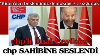"""CHP'li Ünal Çeviköz'den skandal açıklama: """"Biden'den beklentimiz demokrasi ve özgürlük vurgusu"""""""