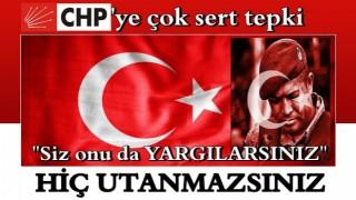 CHP'ye çok sert tepki: Siz Ömer Halisdemir'i bile yargılarsınız!