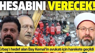 Diyanet İşleri Başkanlığından CHP'li Kılıçdaroğlu'nun avukatı Celal Çelik'e suç duyurusu
