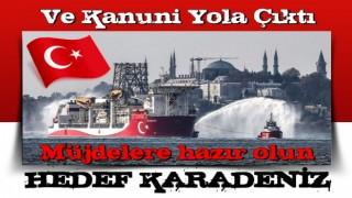 Enerji ve Tabii Kaynaklar Bakanı Fatih Dönmez Kanuni'yi Karadeniz'e uğurladı.