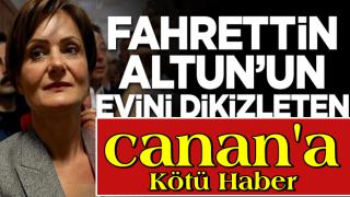 Fahrettin Altun'un evini dikizleten Canan Kaftancıoğlu'na kötü haber