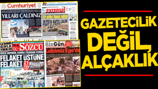 Gazetecilik değil, alçaklık! AK Partili il olunca 'yönetemediniz' CHP'li il olunca 'doğal afet'