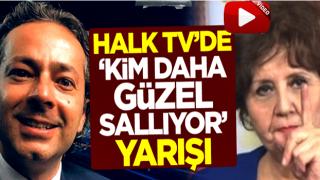 Halk TV'de 'kim daha güzel sallıyor' yarışı