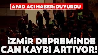 İzmir depreminde can kaybı 107'ye yükseldi