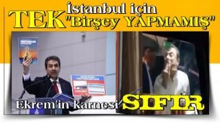 İBB ekrem İstanbullu için TEK bir şey yapmamış!