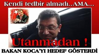 Sağlık Bakanı Fahrettin Koca'yı hedef alan İBB Ekrem neyin peşinde? İşte iftiranın perde arkası .