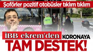 İBB kontrolündeki İETT'de büyük skandal! Koronavirüslü otobüs şoförü direksiyon başında yakalandı.
