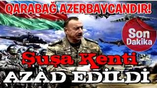 İlham Aliyev: Şuşa kenti işgalden kurtarıldı