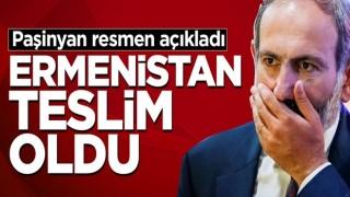 İşgalci Ermenistan teslim oldu