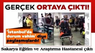 'İstanbul'da durum vahim' diye paylaşmışlardı! Sakarya İl Sağlık Müdürlüğü açıkladı...