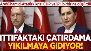 İYİ Parti-CHP arasında Abdülhamid-Atatürk kriz! Ağıralioğlu'nun sözlerine Hüsnü Bozkurt'tan tepki