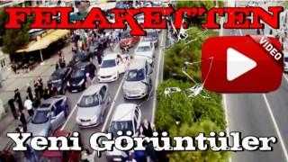 İzmir Büyükşehir Belediyesi, depremde kent kameralarınca kaydedilen görüntüleri paylaştı