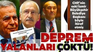 Kemal Kılıçdaroğlu Ve Tunç Soyer'in deprem yalanları belgelendi