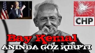 Kılıçdaroğlu Biden'a göz kırptı