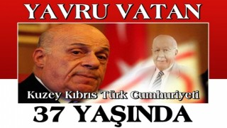 Kuzey Kıbrıs Türk Cumhuriyeti, 37'nci yaşına girdi