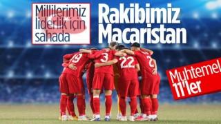 Macaristan-Türkiye maçının muhtemel 11'leri