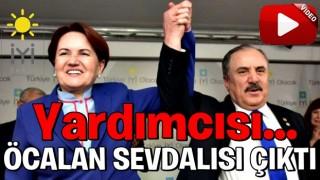 Meral Akşener bunu nasıl açıklayacak! İyi Partili Salim Ensarioğlu Öcalan sevdalısı çıktı