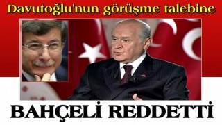MHP'den Ahmet Davutoğlu'nun talebine yanıt!