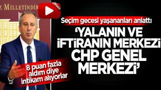 Muharrem İnce bombaladı: Yalanın ve iftiranın merkezi CHP Genel merkezi