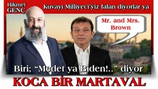 San of imam, lik yor polm, Mr. and Mrs. Brown…