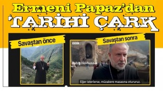 Savaş öncesi silah gösteren Ermeni papazından geri vites: Eğer isterlerse müzakere masasına otururuz