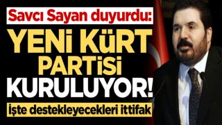 Savcı Sayan duyurdu: Yeni parti kuruluyor! Cumhur İttifakı'na destek verecekler