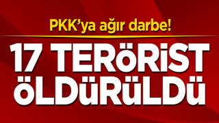 Son dakika: 17 terörist öldürüldü! Komandolardan müthiş operasyon