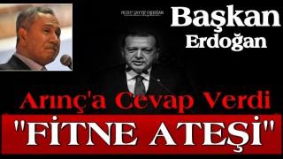 Son dakika haberi: Başkan Erdoğan'dan Bülent Arınç'ın sözlerine sert cevap!