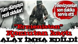 Tüm dünyaya rezil oldular! Korsan devlet Ermenistan firarda