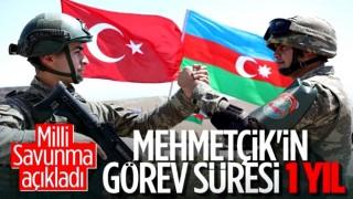 Türk askerinin Azerbaycan'daki görev süresi belli oldu