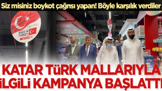 Türk mallarını boykot çağrısına karşılık Katar 'Türk malını keşfet' dedi