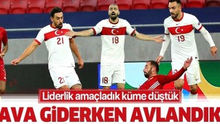 UEFA Uluslar B Ligi'nde A Milli Futbol Takımı Macaristan'a 2-0 yenildi