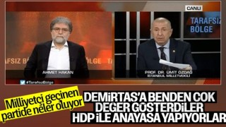 Ümit Özdağ'dan Meral Akşener'e Selahattin Demirtaş göndermesi
