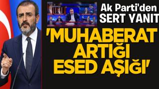 Ünal'dan CHP'li milletvekiline sert tepki! 'Muhaberat artığı Esed aşığı'