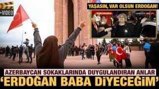 Yaşlı kadın sevincini böyle paylaştı: Erdoğan baba diyeceğim bundan sonra