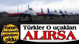 Yunan medyası: Türkler Su-35'leri alırsa...