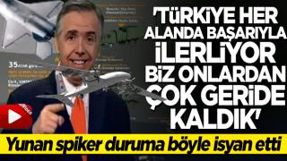 Yunan spiker böyle isyan etti: Türkiye'nin çok gerisinde kaldık