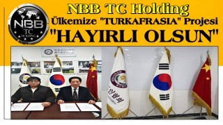 ''Asrın Projesi imzalandı..'' NBBTC Holding'den ''TURKAFRASIA'' Projesi