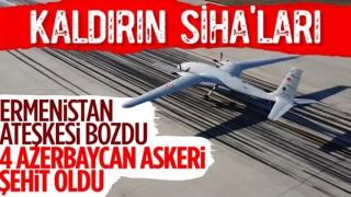 Azerbaycan acı haberi duyurdu! Şehitler var