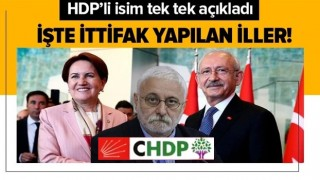 CHP, HDP ve İYİ Parti ittifakı tutanakta! HDP Grup Başkanvekili Hakkı Saruhan Oluç: Her yerde açık açık yaptık .