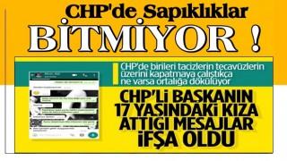 CHP İlçe Başkanı, 17 yaşındaki genç kızı taciz etti