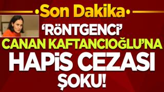 CHP İstanbul İl Başkanı Canan Kaftancıoğlu'na hapis cezası istemi!