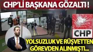 CHP'li belediyeye rüşvet operasyonu