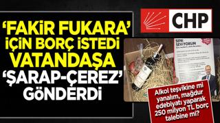 CHP'li Mersin Belediyesi'nde rezalet! Yılbaşı öncesi şarap-çerez dağıttı